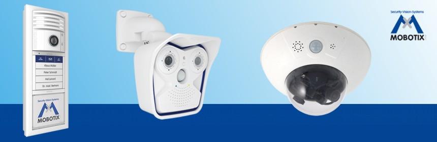 Mobotix: IP-Videokamera und IP-Türstation