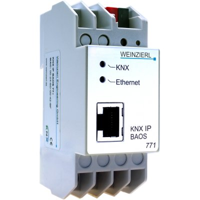 KNX IP BAOS 771: KNX IP Interface und Object Server / 250 Datenpunkte